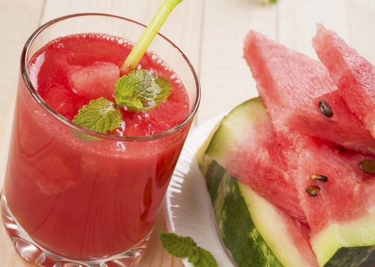 suco detox de melancia para emagrecer